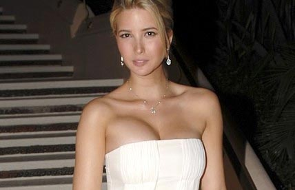 picture of ivanka trump with different sized breasts