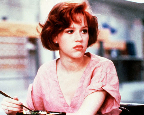 picture of Molly Ringwald in Breakfast Club