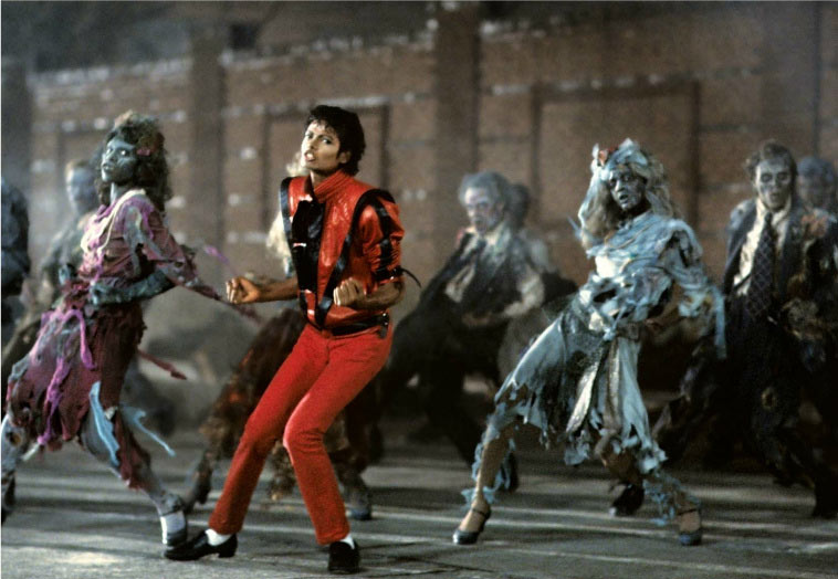 picture of michael jackson thriller video