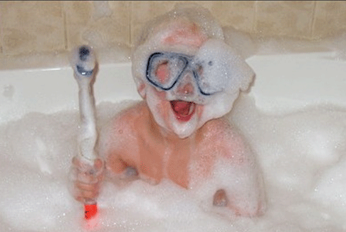 baby bubbles tub totallycandy